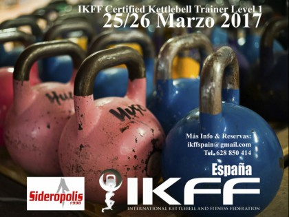 Curso oficial de Kettlebell IKFF