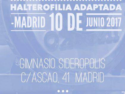 Campeonato de España de Halterofilia Adaptada en Sideropolis
