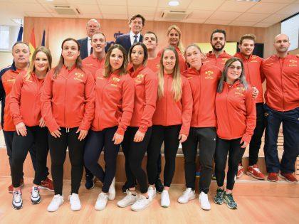 Los Play Off de la Liga Nacional y la Selección Española de Halterofilia, en Sideropolis