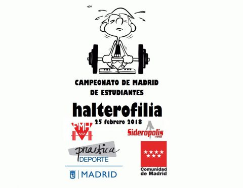 cartel campeonato madrid estudiantes 2018 web