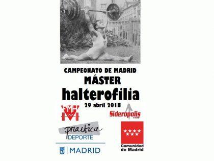 Campeonato de Madrid Máster de Halterofilia 2018