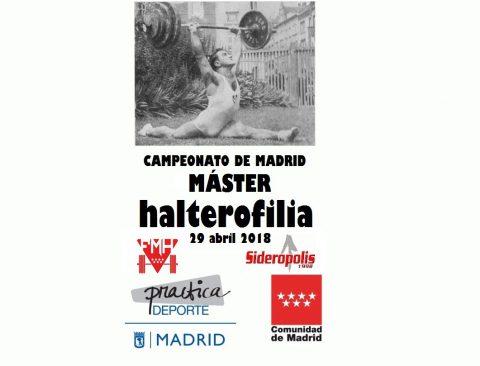 cartel campeonato madrid master 2018 web
