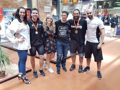 Éxito del equipo Sideropolis en el Campeonato de España Máster de Halterofilia