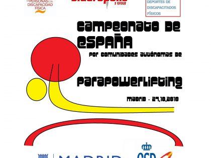 Madrid, a revalidar el título de Parapowerlifting