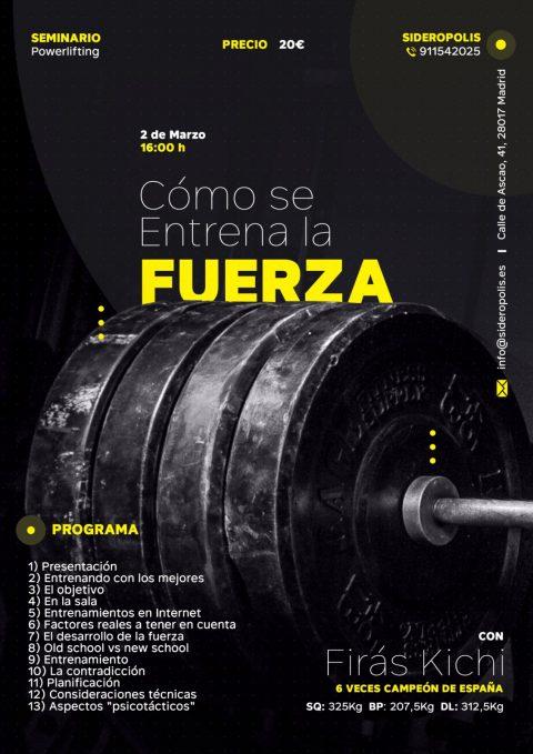 SEMINARIO FUERZA